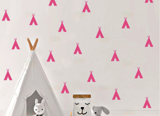 Tipi, Stickers Murales