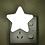 Thumbnail: Lámpara de noche, Estrella blanca