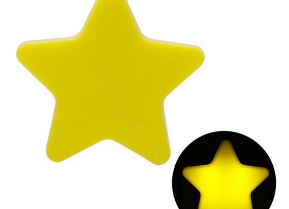 Lámpara de noche, Estrella amarilla