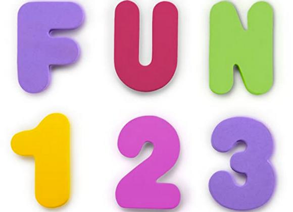 Letras y Números (colores pasteles), Munchkin
