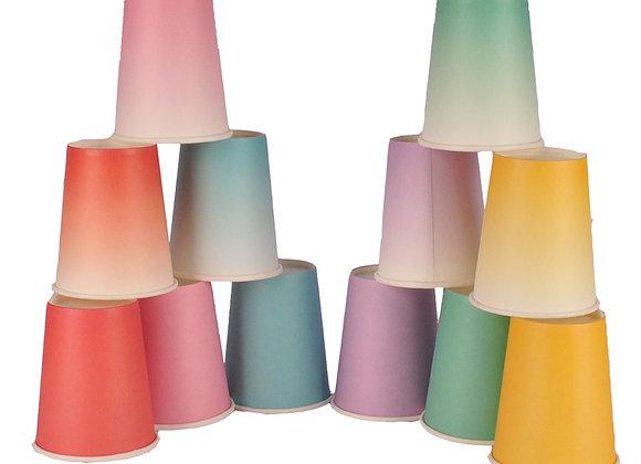 Vasos Color Degradé