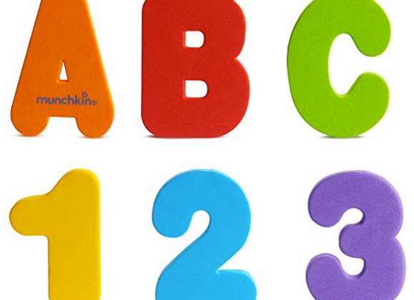 Letras y Números (colores sólidos), Munchkin