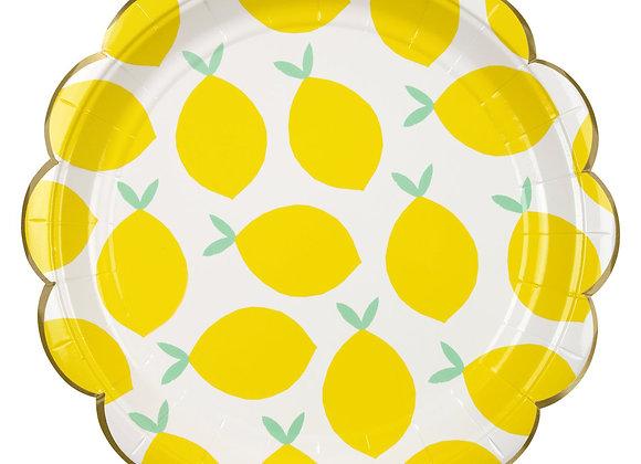 Plato pequeño Limones