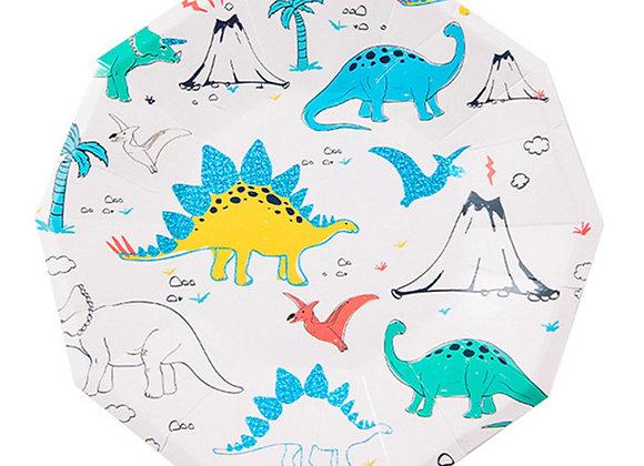 Platos Dinosaurio