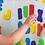 Thumbnail: Letras y Números (colores sólidos), Munchkin