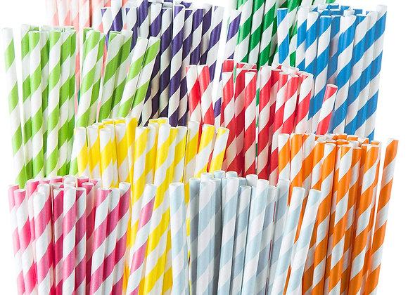 Bombillas de papel