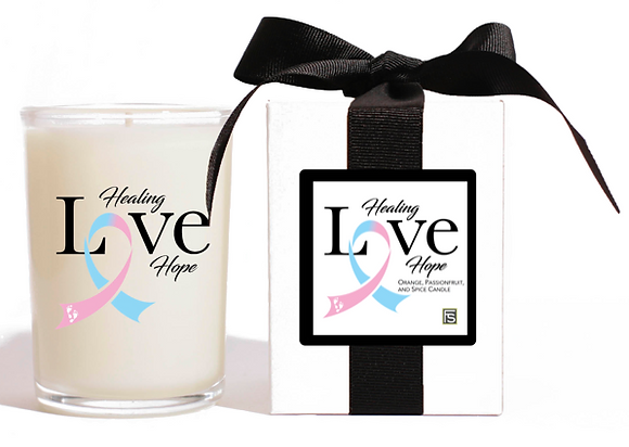 HEALING LOVE HOPE CANDLE