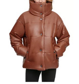 Fall 2020 Faux leather puffer