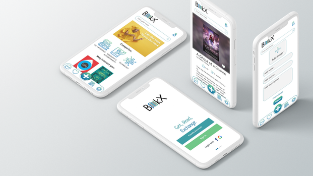 Book Exchange App Design