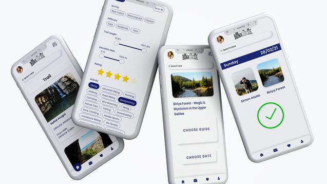 Hike n Guide app