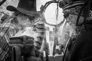 Dia de los Muertos in Houston Texas annual cemetary procession para los ninos Museo Guadalupe Aztlan