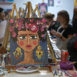 Paint & Sip Classes