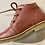 Thumbnail: Froddo girls pink patent leather lace up boot. G2130214