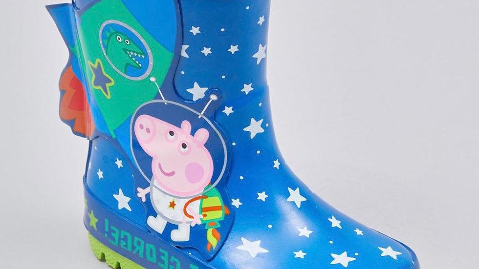 George from 'Peppa Pig' rocket wellies