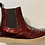 Thumbnail: Froddo girls patent leather Chelsea boots in Bordeaux G3160119-11
