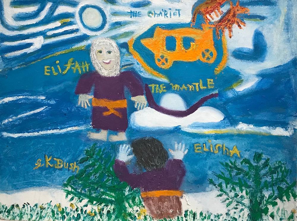 Elija and the Mantle - Gladwyn K. Bush
