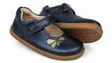 Bobux girls IWalk Delight shoe in navy 628034