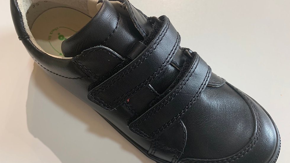 Froddo boys leather double velcro school shoes G3130159