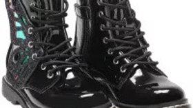 Lelli Kelly Vernice Nero girls boots LK6540