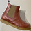 Thumbnail: Froddo girls patent leather Chelsea boot in pink. G3160119