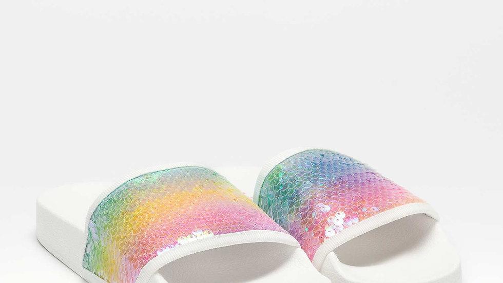 Lelli Kelly Emily Rainbow Sliders LK7928