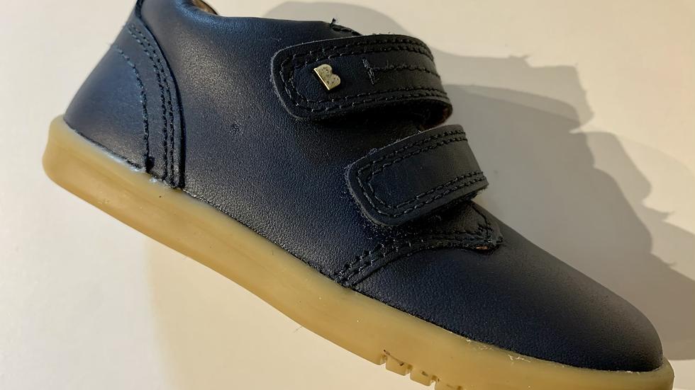 Bobux IWalk boys leather navy Port shoe 632701-22