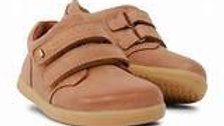 Bobux boys Step Up port leather shoe in Caramel 727715-20