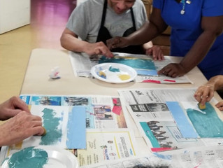 The Benefits of Art for the Elderly Population