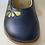 Thumbnail: Bobux girls IWalk Delight shoe in navy 628034