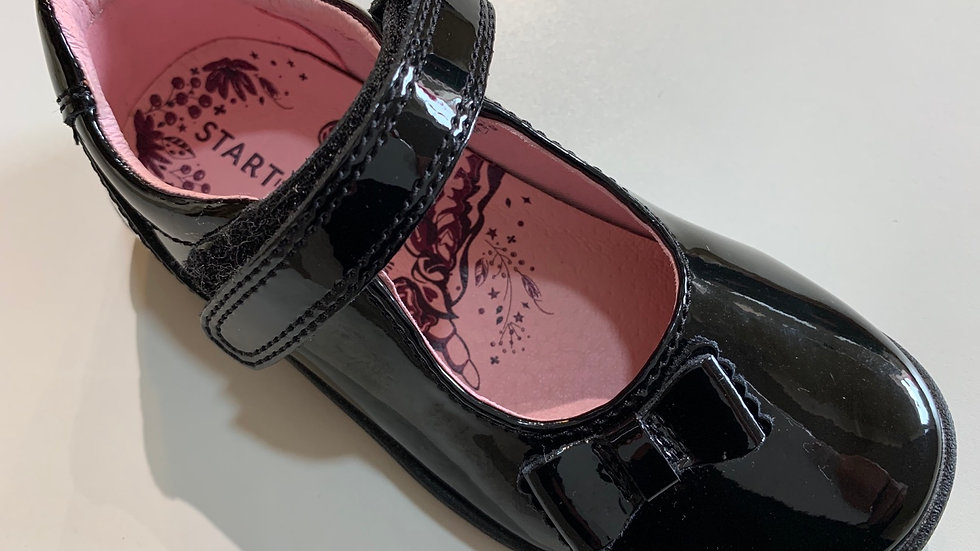 Start-rite Giggle Black patent school shoe 2799_3