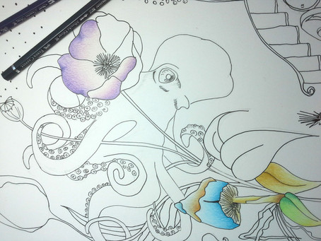 A new creation in progress...Octopus