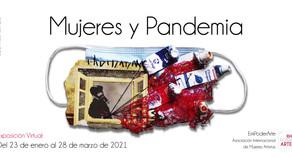 """Inauguración de la exposición virtual """"Mujeres y Pandemia"""""""