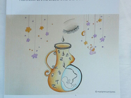 """The cover of the book consists of my drawing """"Subrogadas"""""""