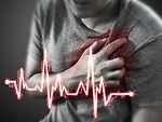 Severe heartache, man suffering from che