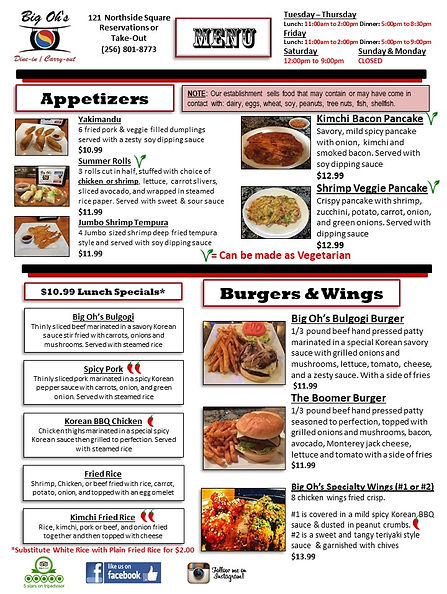 Big Oh's Dinner Menu Edit Spring 21 pg1.