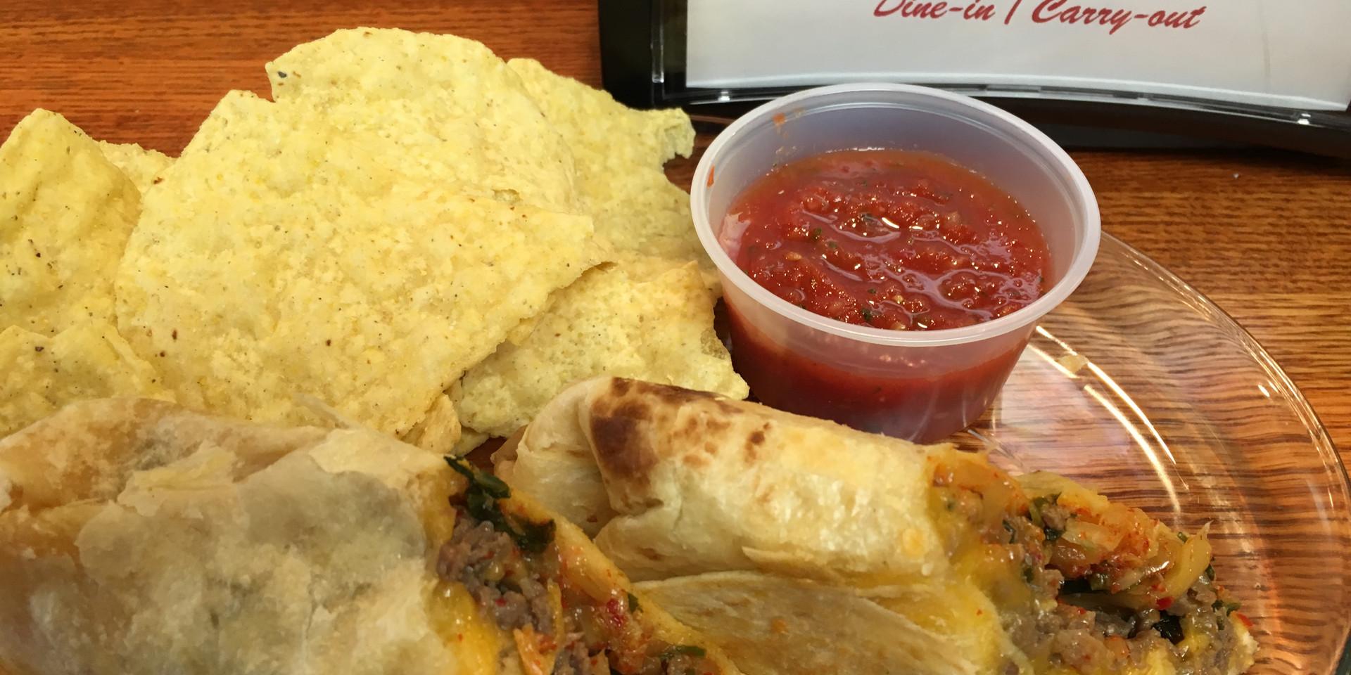 Kimchi Bulgogi Burrito
