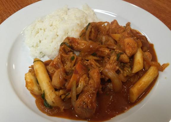 Dak Kalbi (Very Spicy)