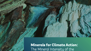 More minerals needed for clean energy transition
