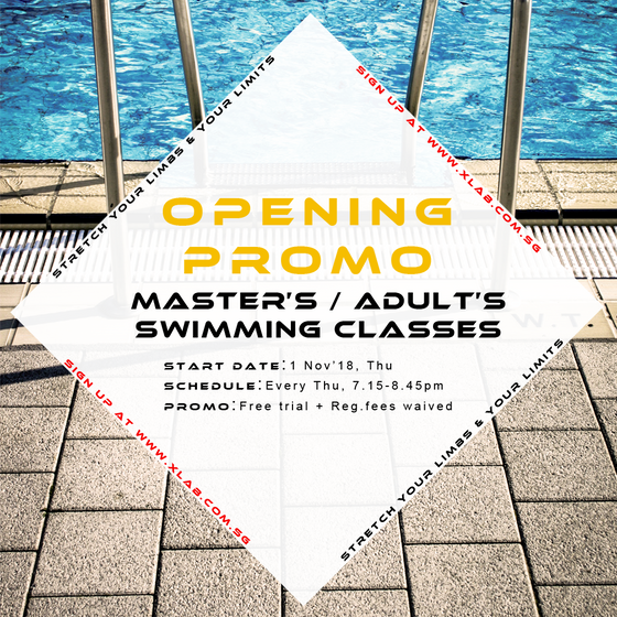 Master / Adult Swimming Classes