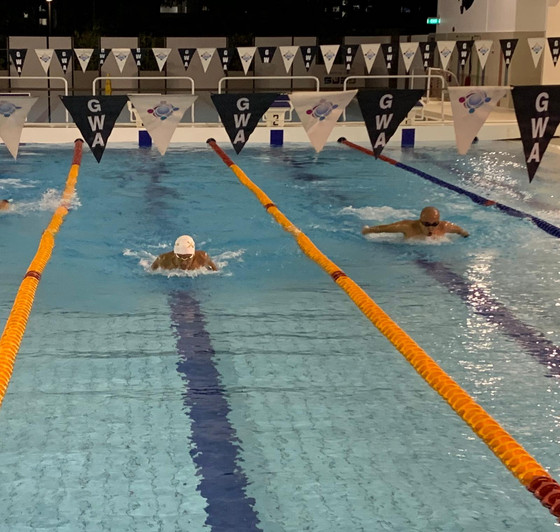 Masters Swimming Classes and open water event