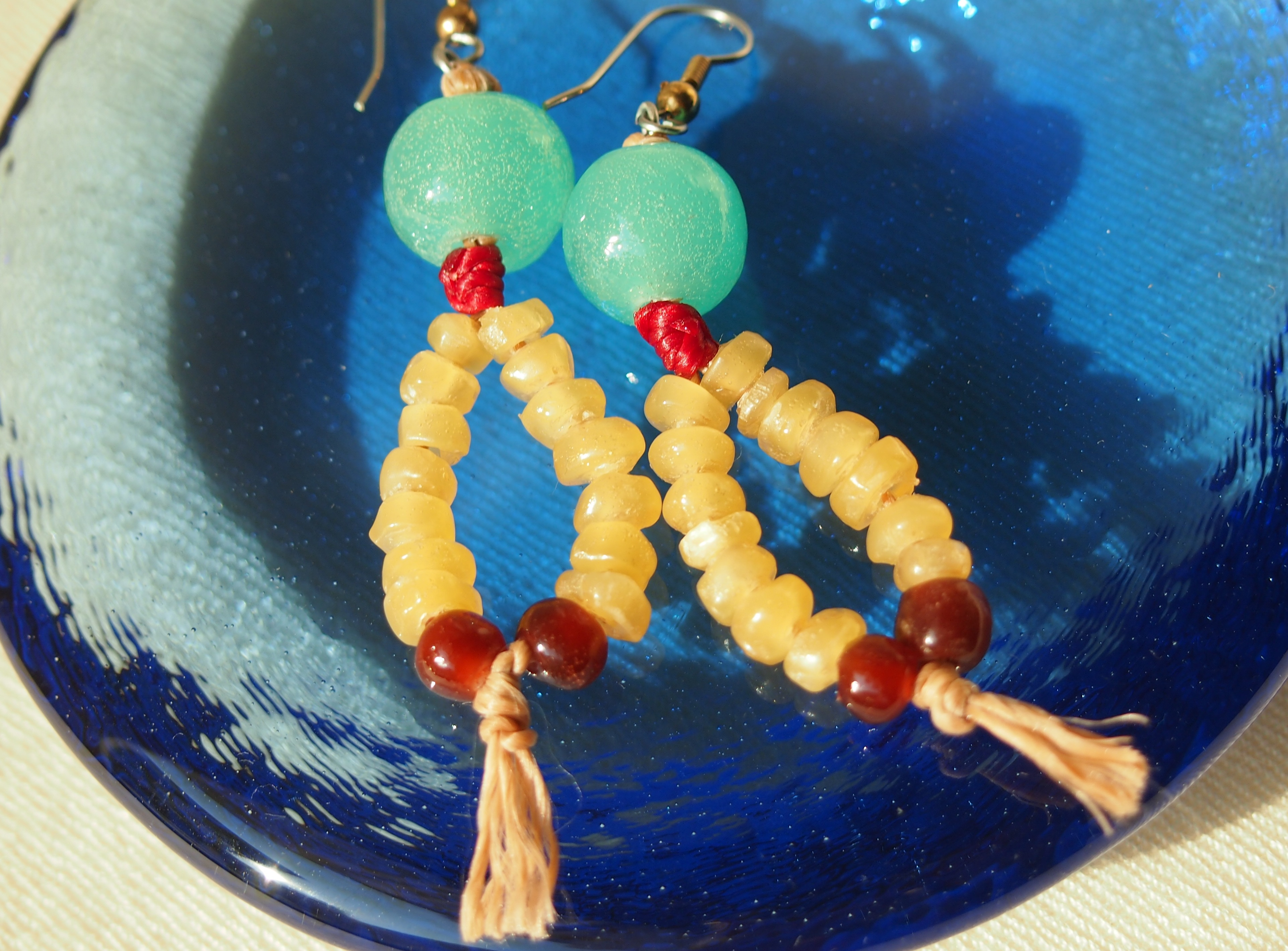 Indian Earring Candles 1