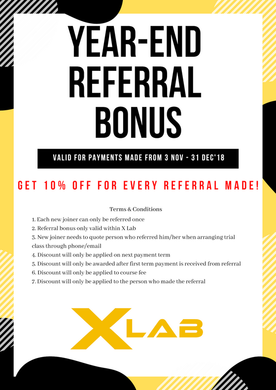Year-end Referral Bonus
