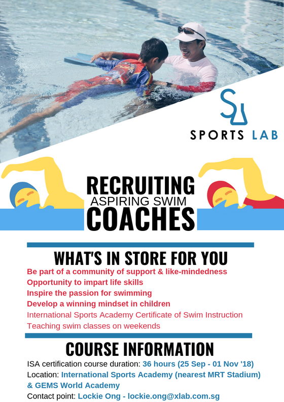 ISA Certificate of Swim Instruction