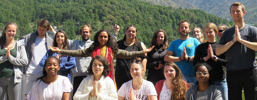 Yoga in Dharamshala.JPG