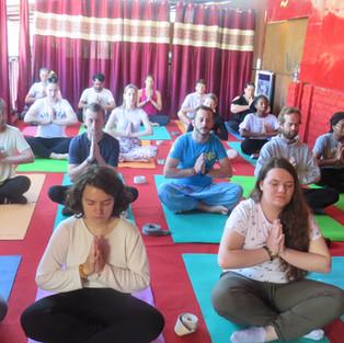 Yoga Dharamsala Retreat.