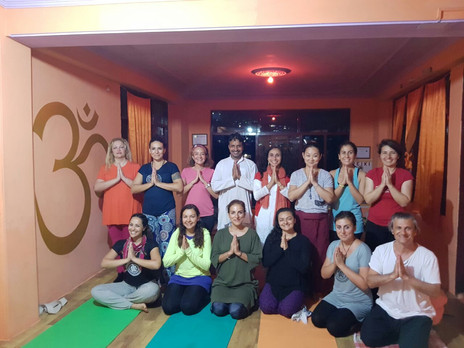Certified Yoga Ashram - Om Yoga Ashram offers 200 hour Yoga Teacher Training in Dharamsala, India: a