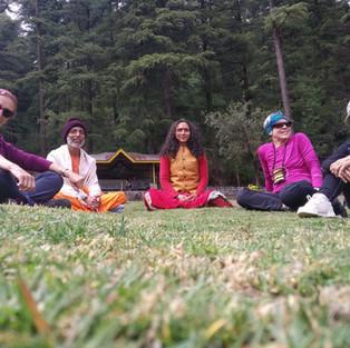 Beautiful View From Yoga Ashram