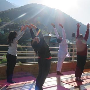 Yoga Meditation Retreat.