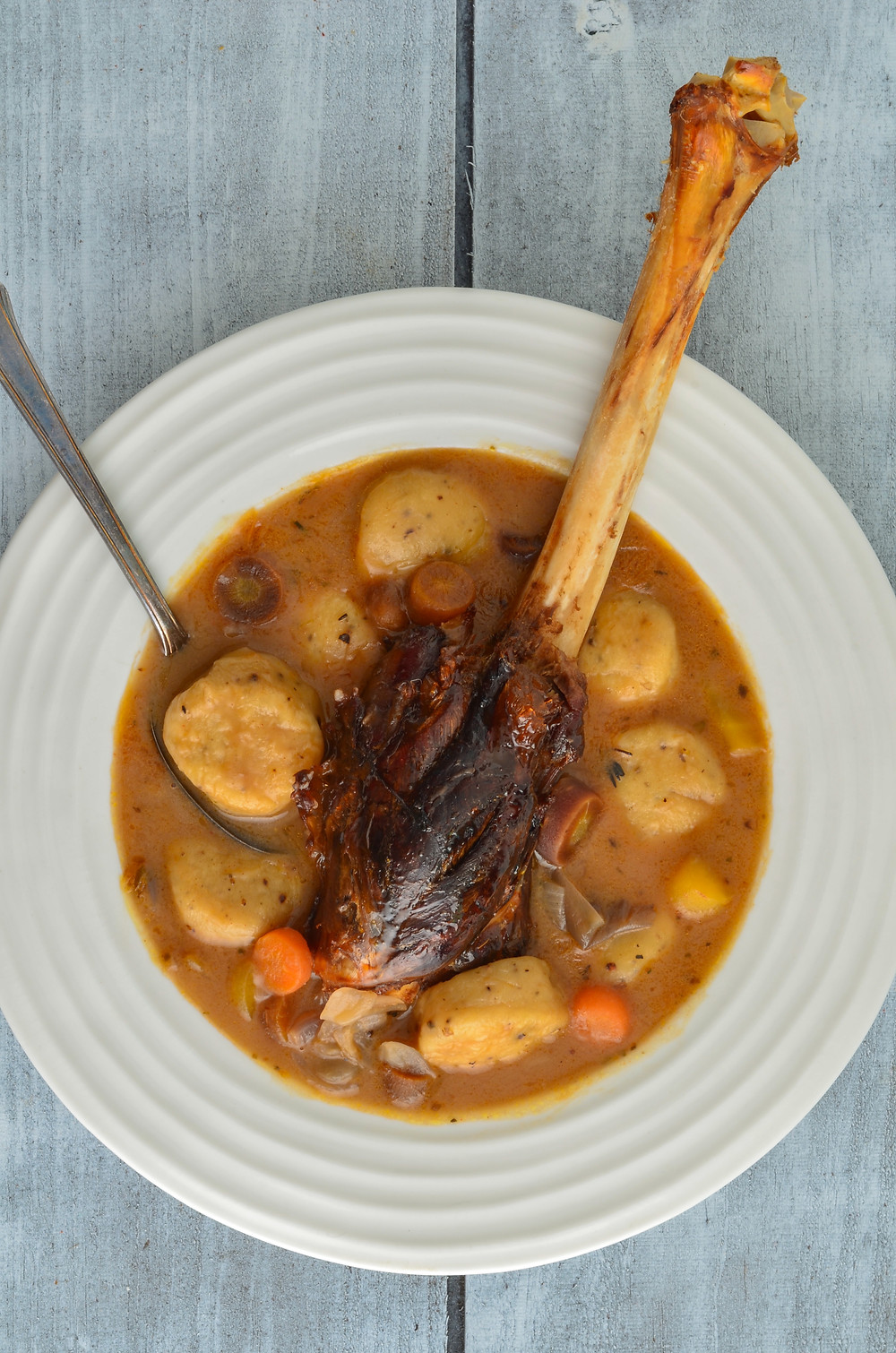 Venison shank, venison recipes, wild game recipes