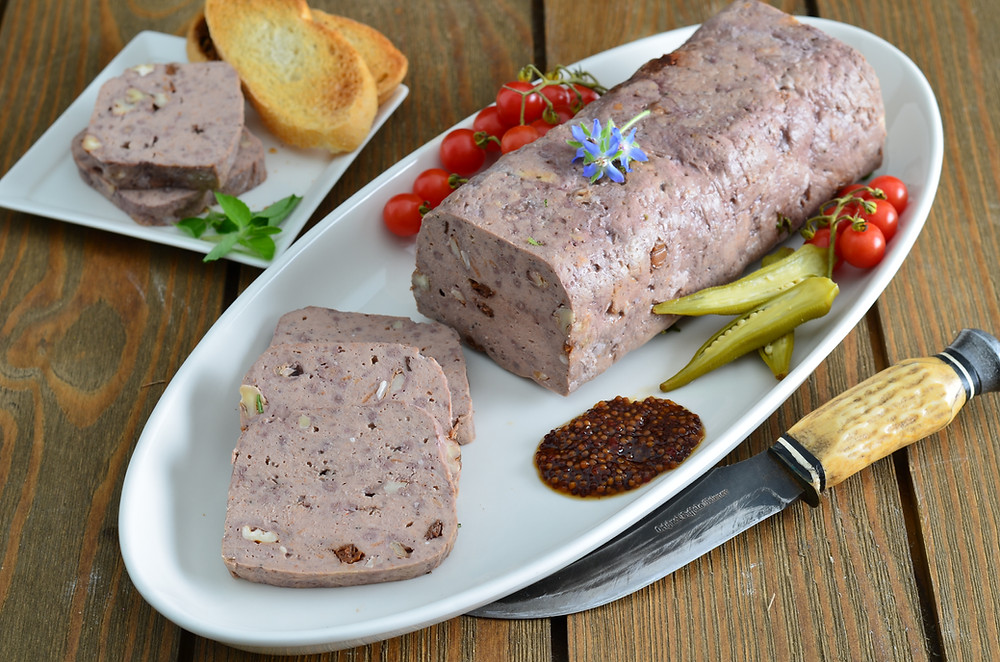 Venison and WIld Boar Terrine | Wild Game Charcuterie